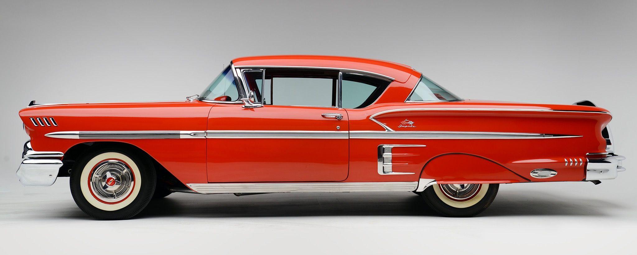 1958 Chevrolet Bel Air Impala Sport Coupe Chevrolet Chevrolet Bel Air Vintage Cars 1950s