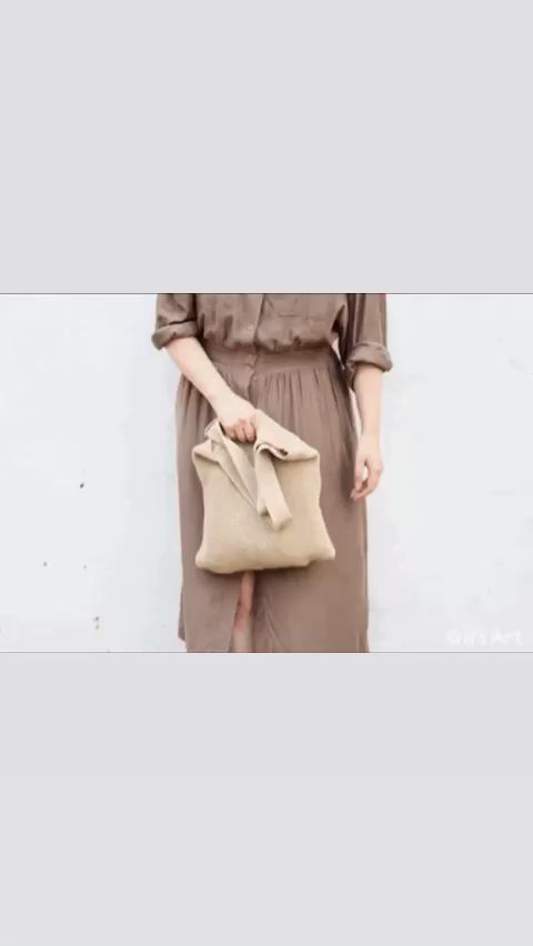 Photo of Knitted tote bag