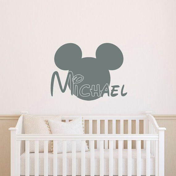Personalized arrow name wall decal rustic nursery decor kids baby boy also rh pinterest