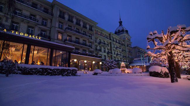 Victoria Jungfrau Grand Hotel Interlaken Switzerland