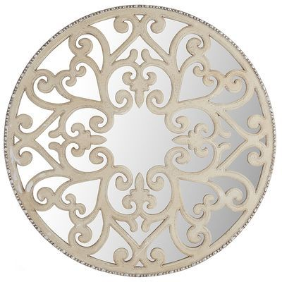 Carved Scroll Wall Decor - Ivory Pier One Imports | Elk Ridge House ...