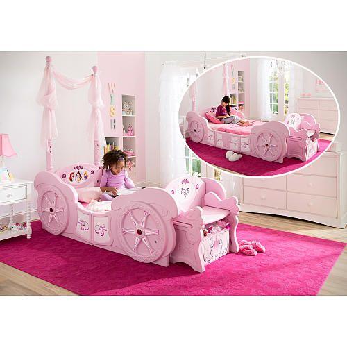 Delta Children Disney Princess Carriage Toddler To Twin