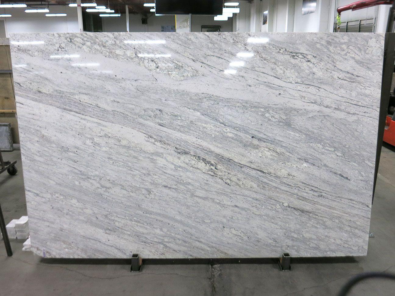 Glacier White Polished Block 012722 Granite Countertops Kitchen White Granite Countertops Countertops
