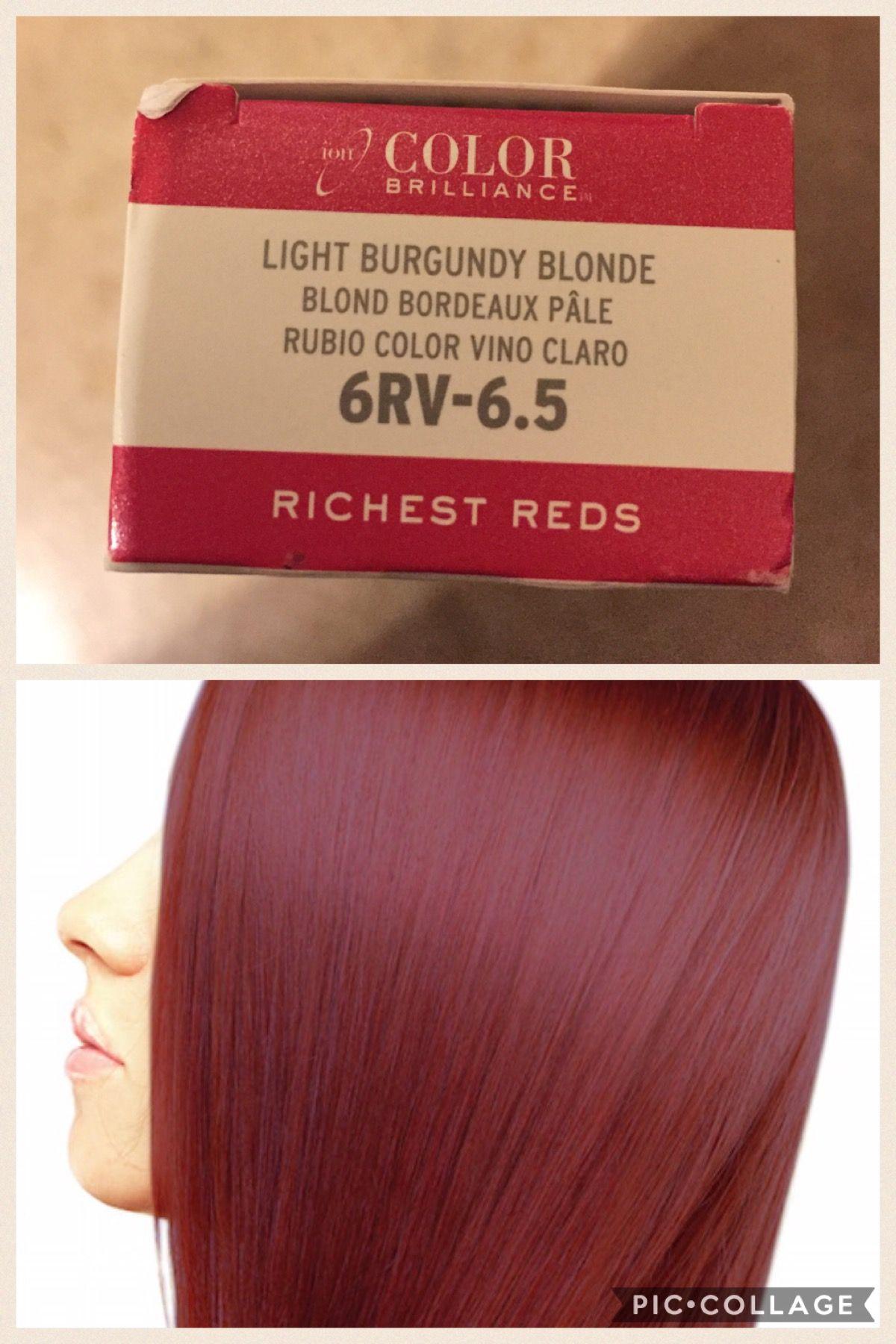 Ion Color Brilliance 6rv 6 5 Ion Color Brilliance Red Hair