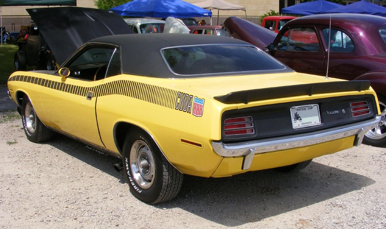 The most expensive of all the Cuda\'s. Description from deviantart ...