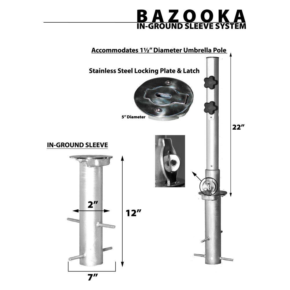 Frankford Umbrella Bazooka Stand Patio Stands At Hayneedle