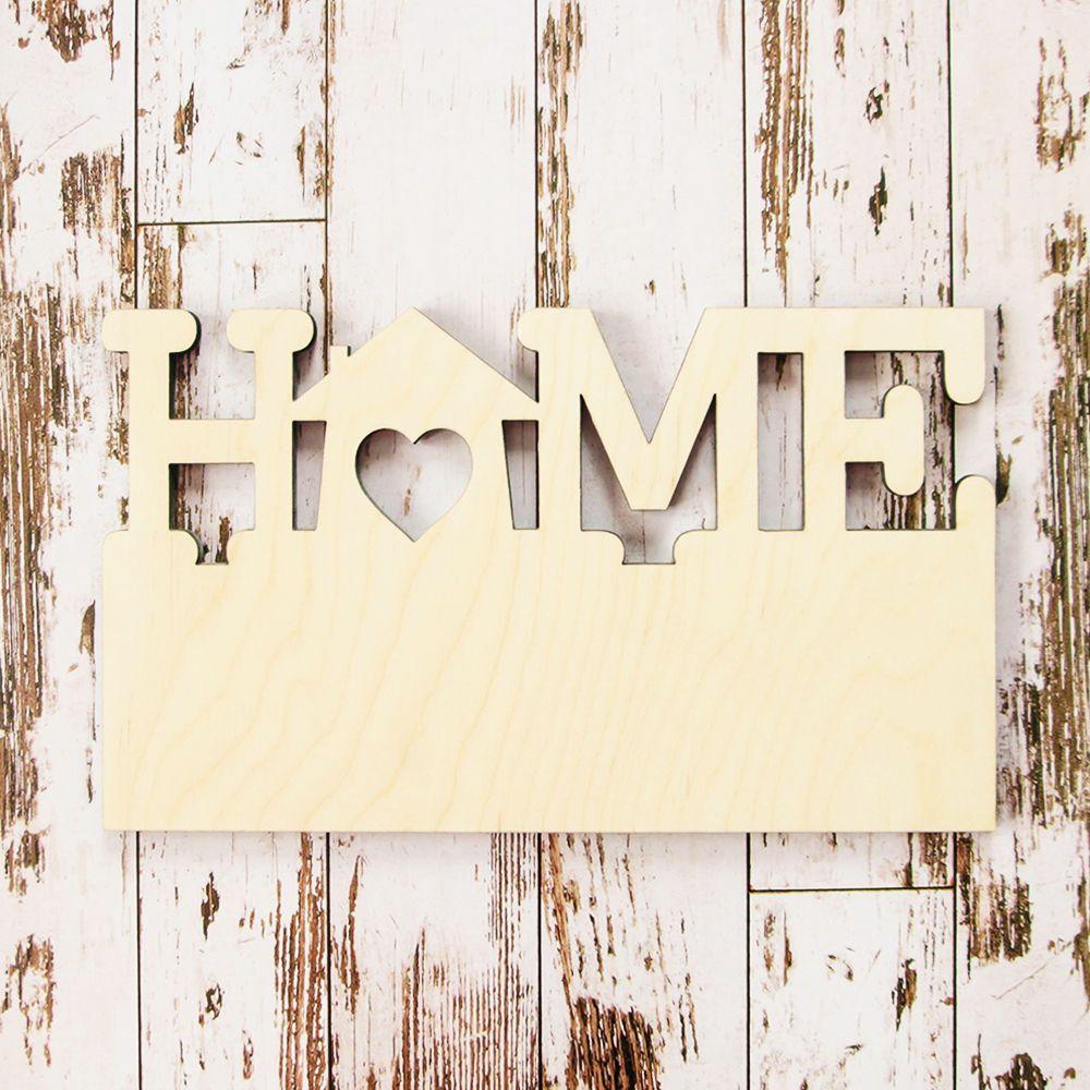 Купить Основа для ключницы «Home» Л-003 - лимонный, заготовка, для декупажа, заготовка для часов