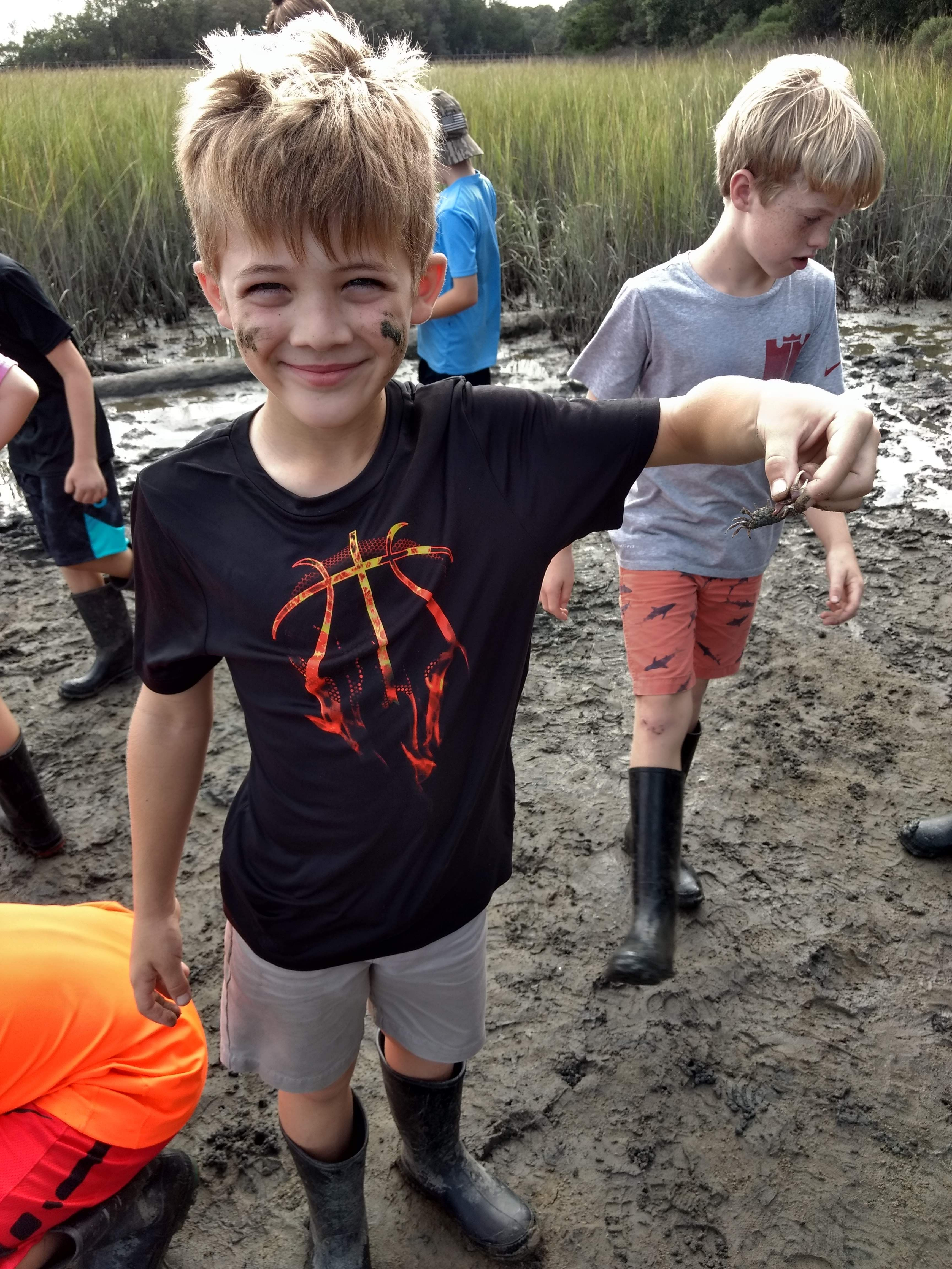 Grade 4 Students Visited Camp Sewee To Learn More About