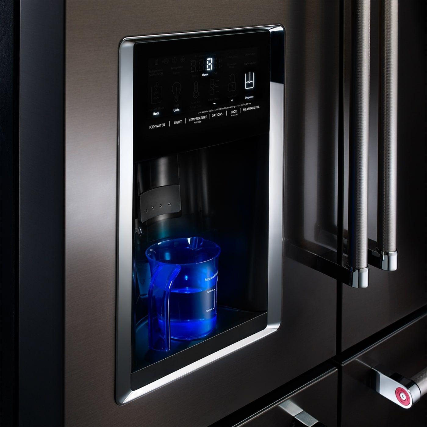 Krmf706ebs by kitchenaid french door refrigerators