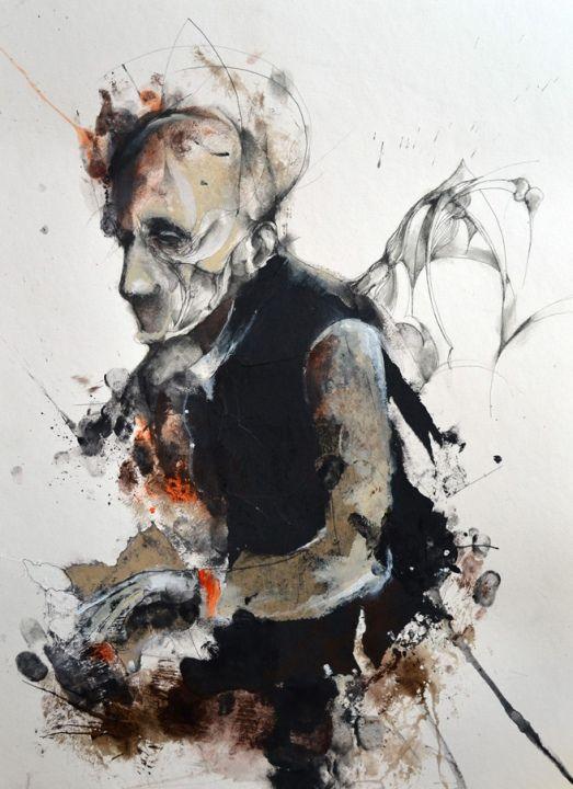 Eric Lacombe Artiste Peintre En Proie A La Melancolie Artiste Peintre Peintre Artiste