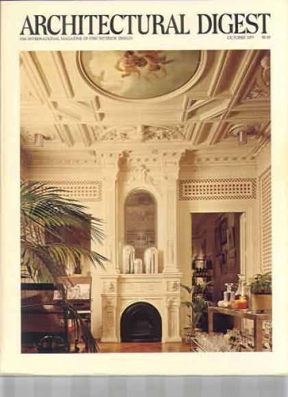 October 1977 cover - Architectural Digest