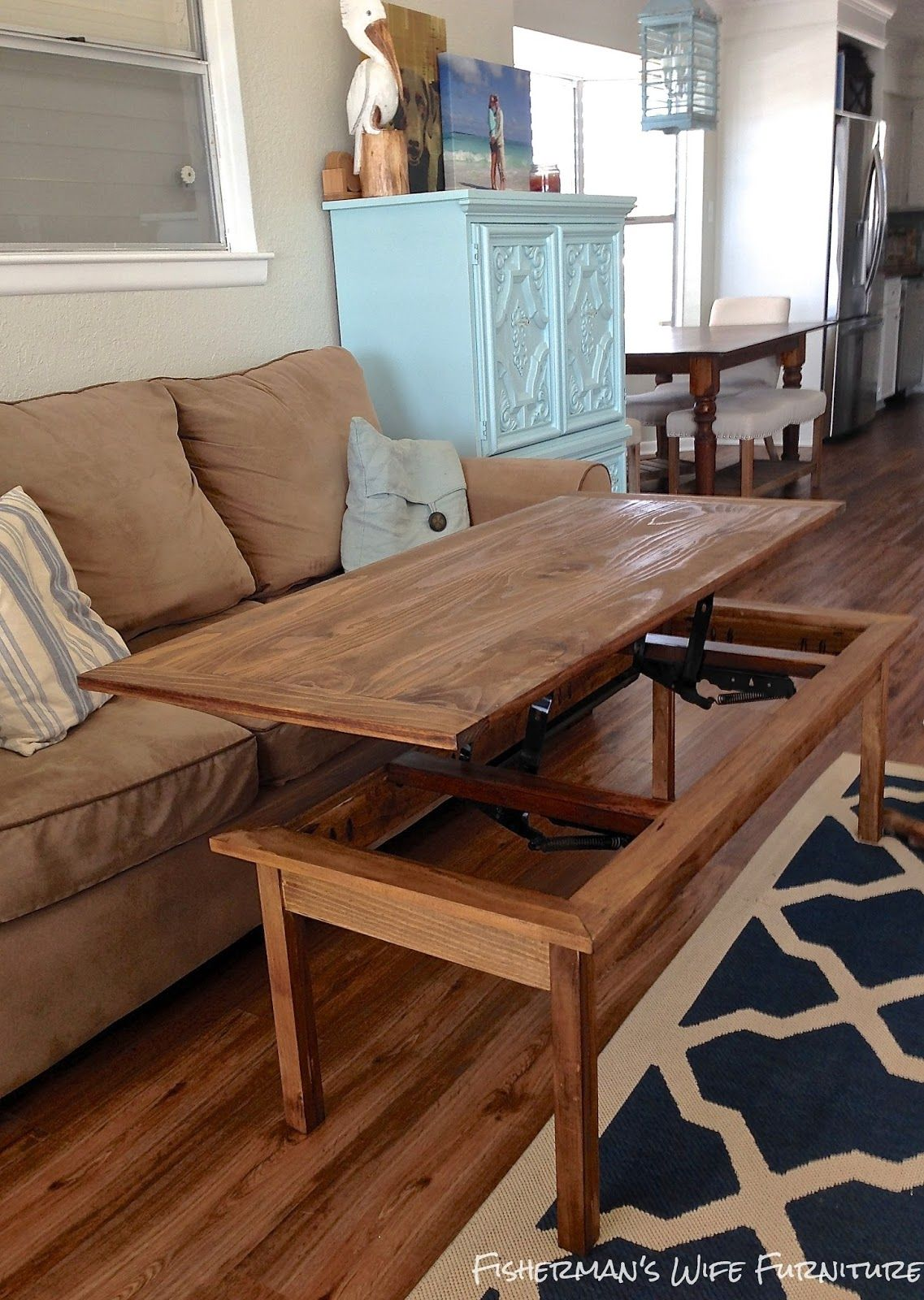 DIY Coffee Table | Diy coffee table