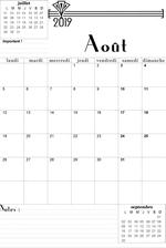 Calendrier Mois Aout 2019.Calendrier Aout 2019 A Imprimer Les Imprimables De