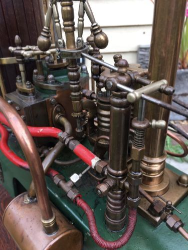 Large Live Steam Model Stationary Beam Engine Boiler Plant Built ...