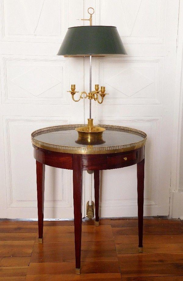 Beautiful Lampe bouillotte en bronze dor de style Louis XVI poque XIXe
