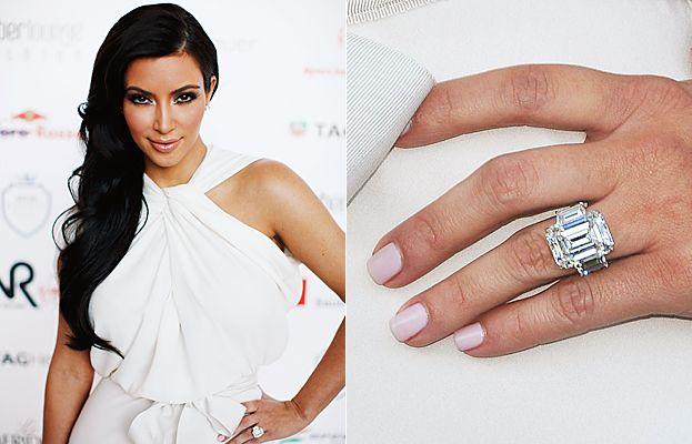 News Celebrity Engagement Rings Kim Kardashian Engagement Ring Kim Kardashian Wedding Ring