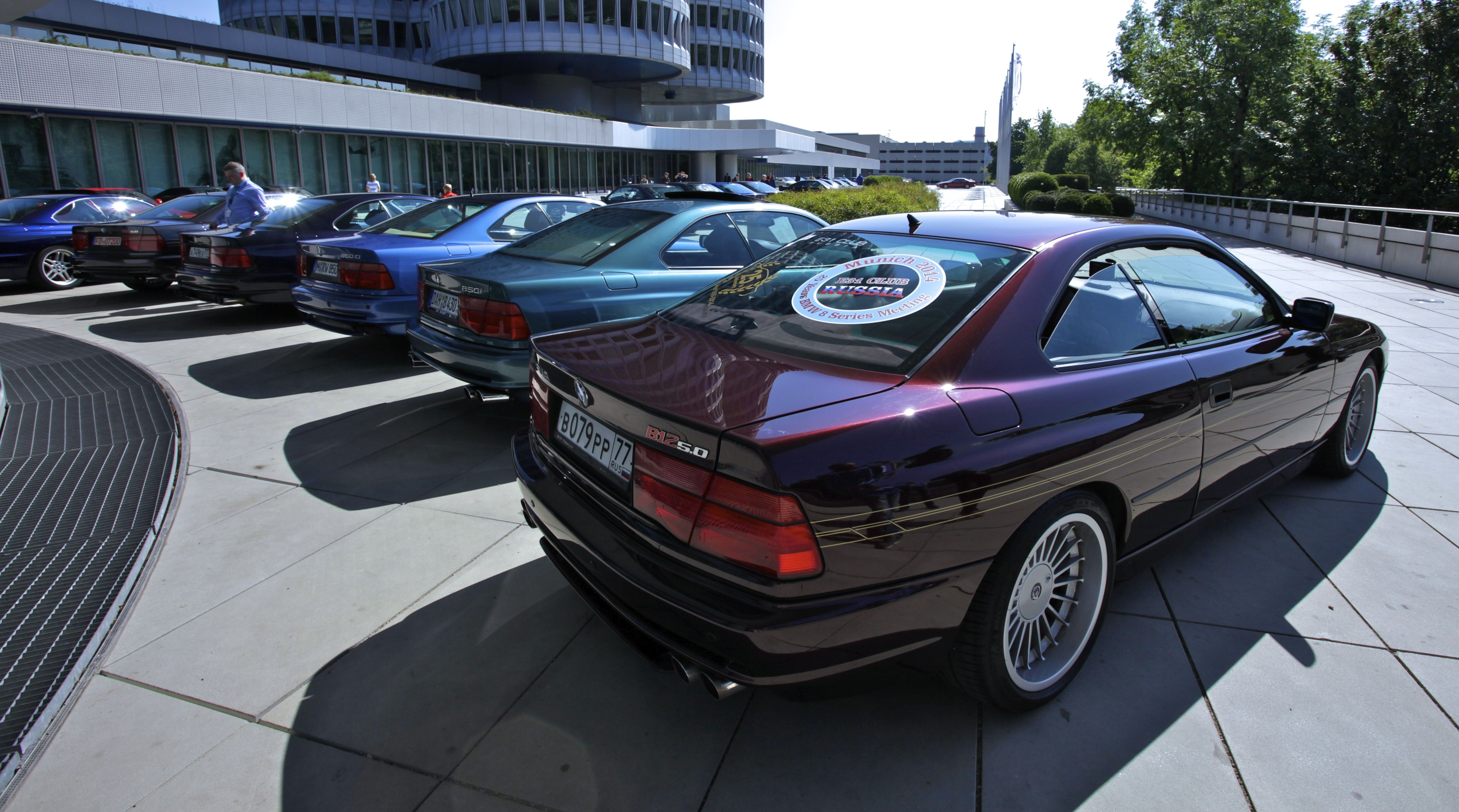 M Power 25 Years Of The Bmw 8 Series Bmw Tyre On Fire Bmw 8