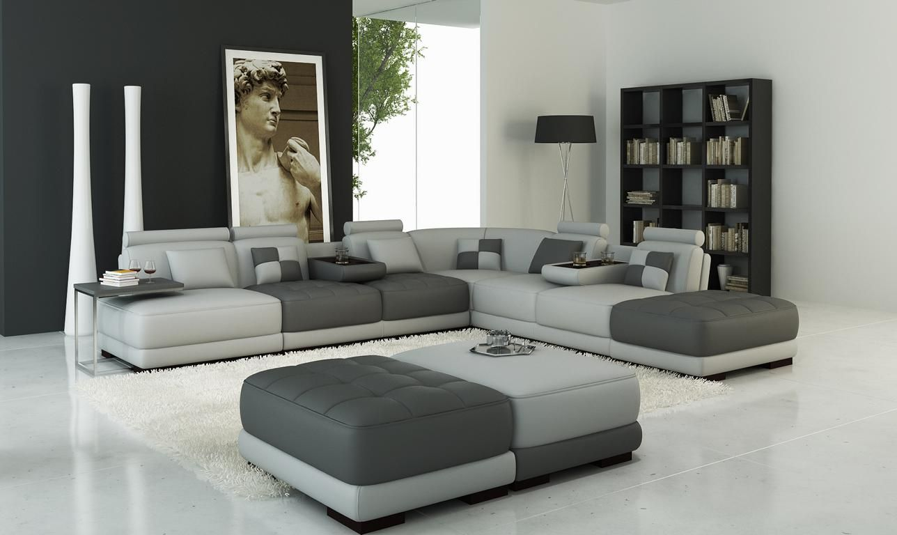 Xxl Designer Wohnlandschaft Polster L Form Ecksofa Eck Garnitur Sofa Couch Ecke Wohnen Haus Deko Sofa