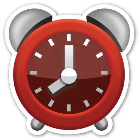 This Clock Tells An Imaginary Time Clock Emoji Emoji Stickers