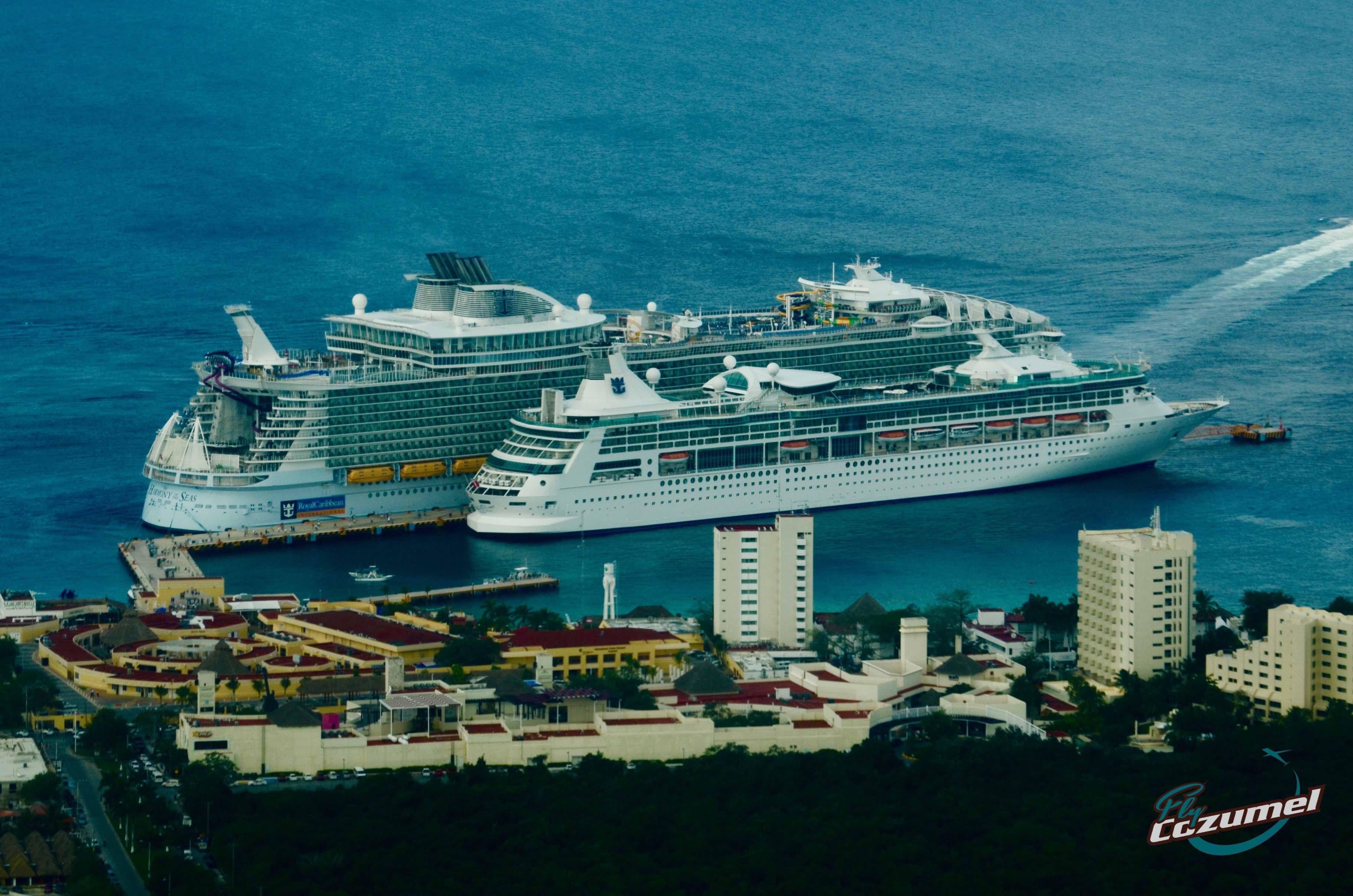 Yesterdays cruises in Cozumel Impressive views cozumel
