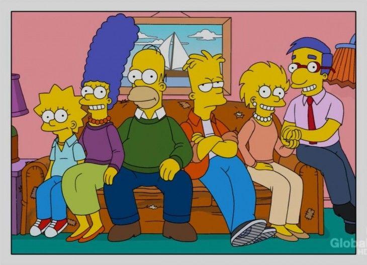 Los simpson Lisa se enamora de Milhouse