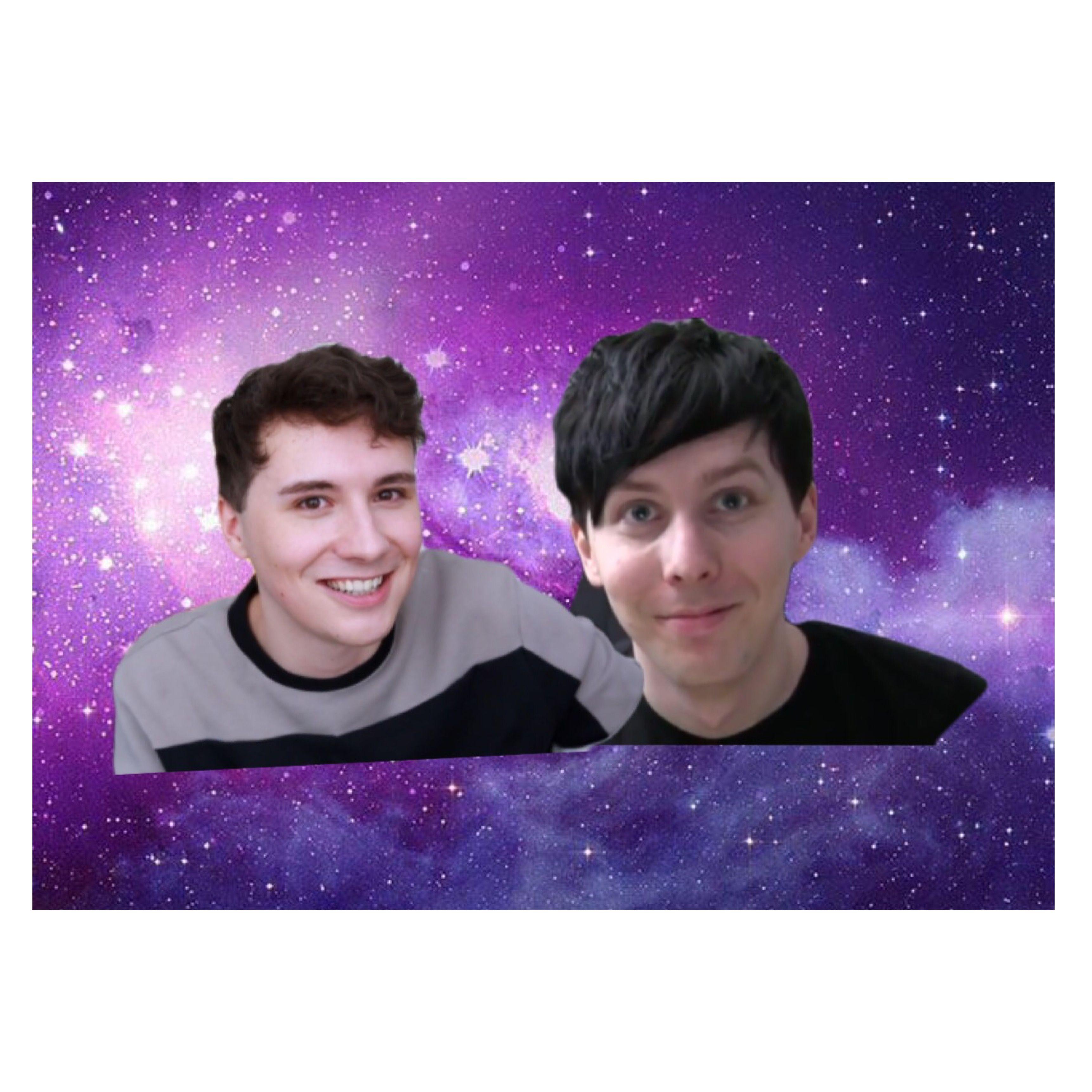 Desktop Galaxy Dan Phil Wallpaper Dan And Phil Wallpaper Dan