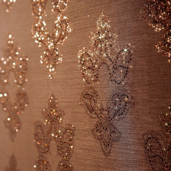 amazing interior design make your room sparkle with glitter walls ideas for the house. Black Bedroom Furniture Sets. Home Design Ideas