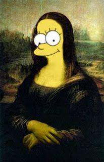 La Gioconda version: Simpson Style | Imagenes y Fotos