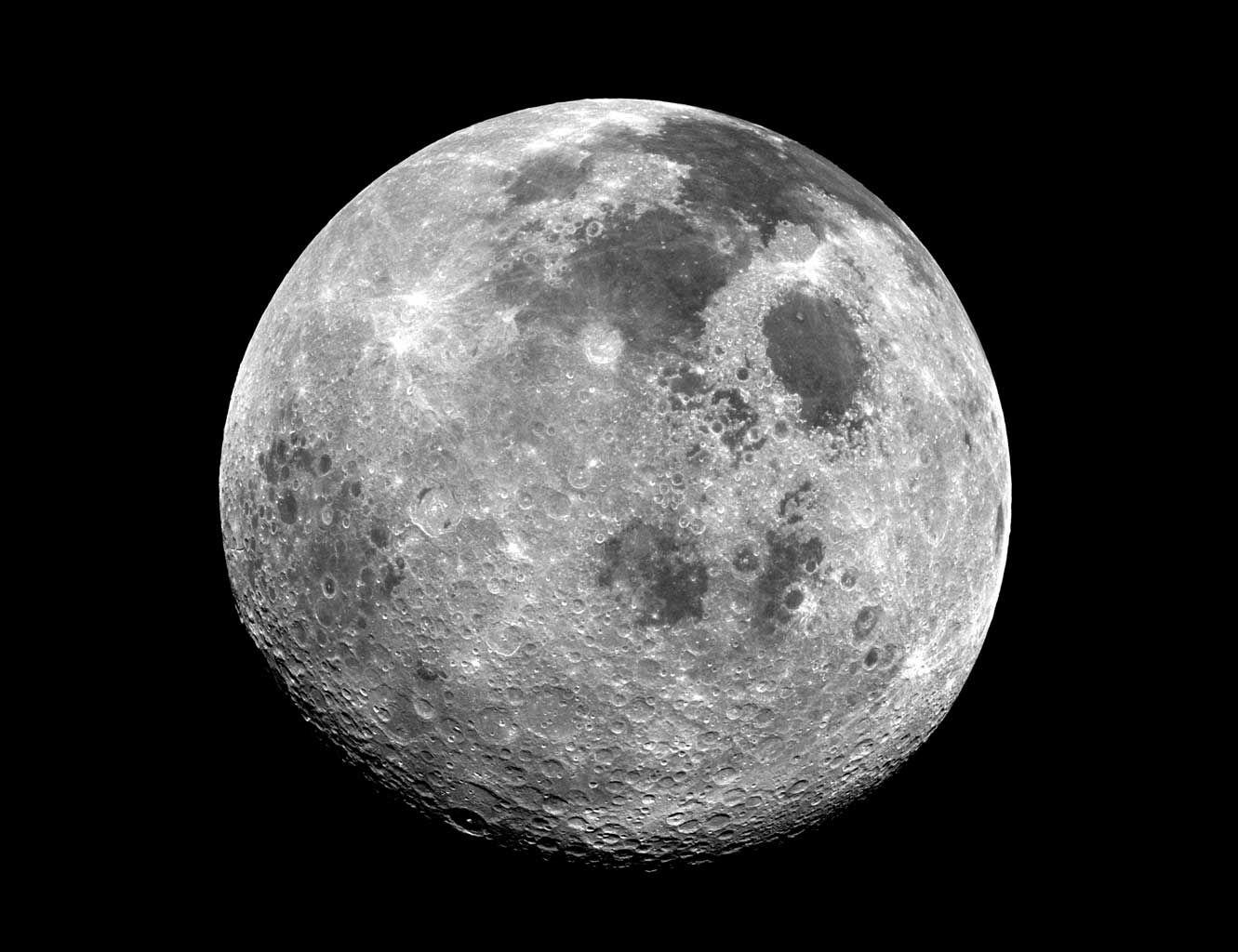 Earth S Moon Apollo 17