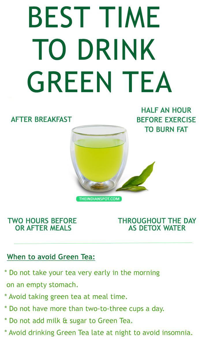 the best time to drink green tea | health, green tea
