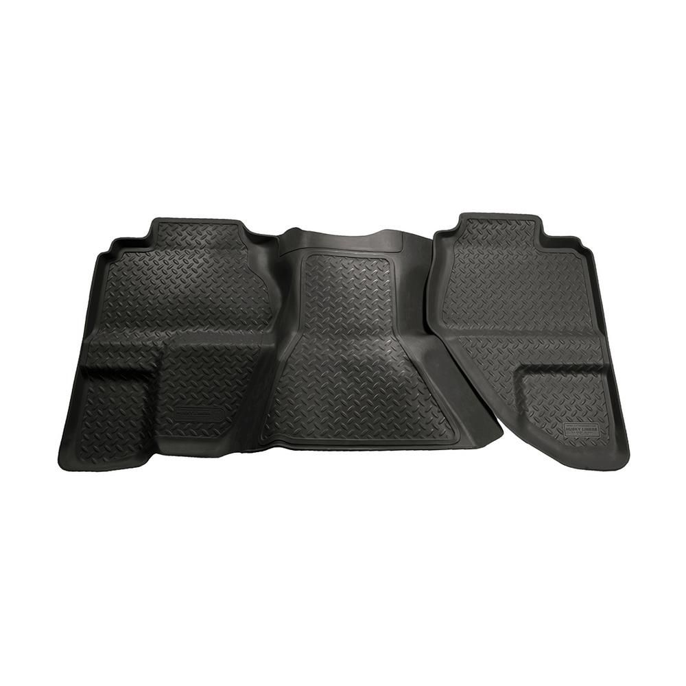 Husky Liners 2nd Seat Floor Liner Fits 07-13 Silverado//Sierra 1500 Extended Cab 19193