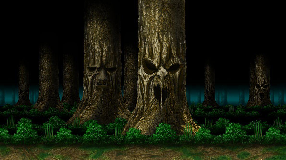 Mortal Kombat Living Forest Hd By Kracov Daf0o1i Png 1191 670 Mortal Kombat Forest Reference Images