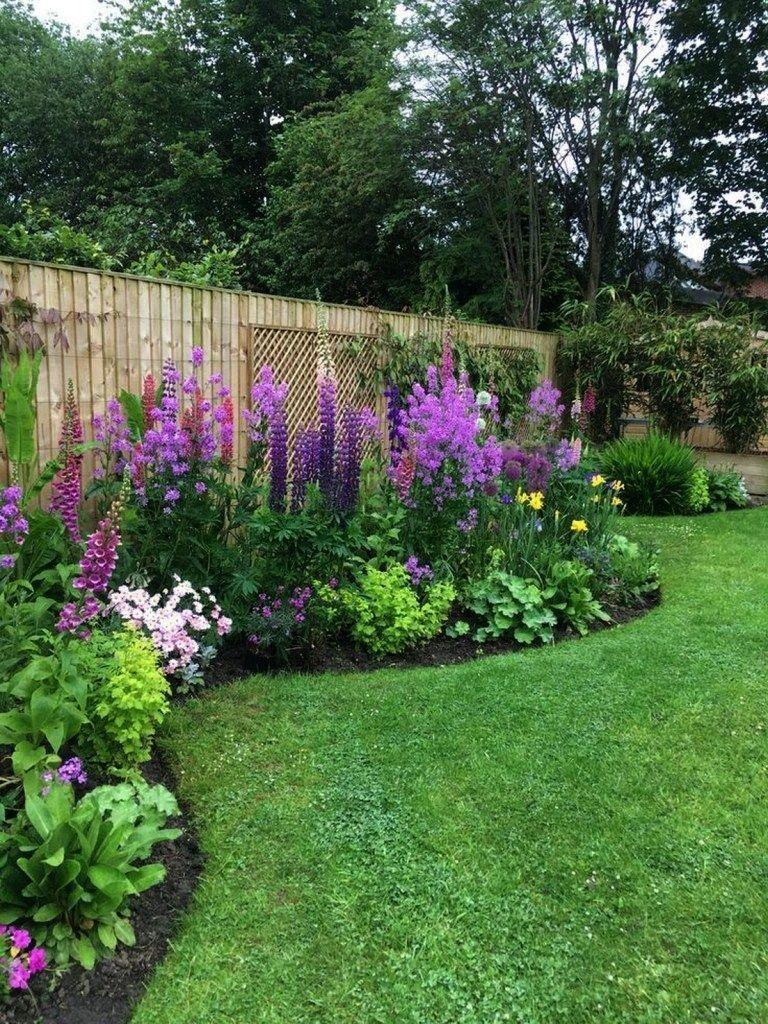 Photo of garden flower bed #garden #garden #backyardlandscaping #land … – Stone House