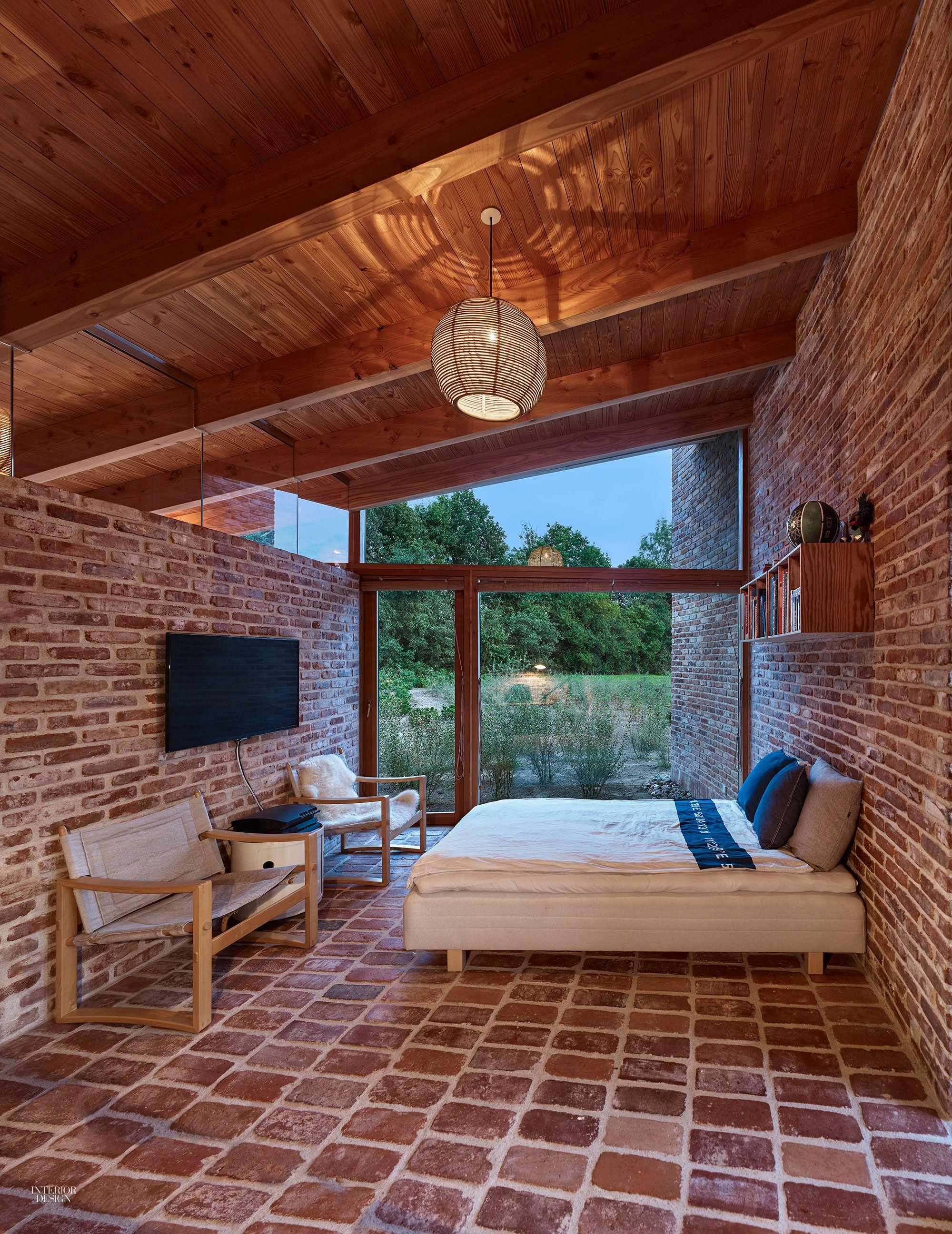 Jan henrik jansen designs unconventional round house in denmark interior design magazine also rh pinterest