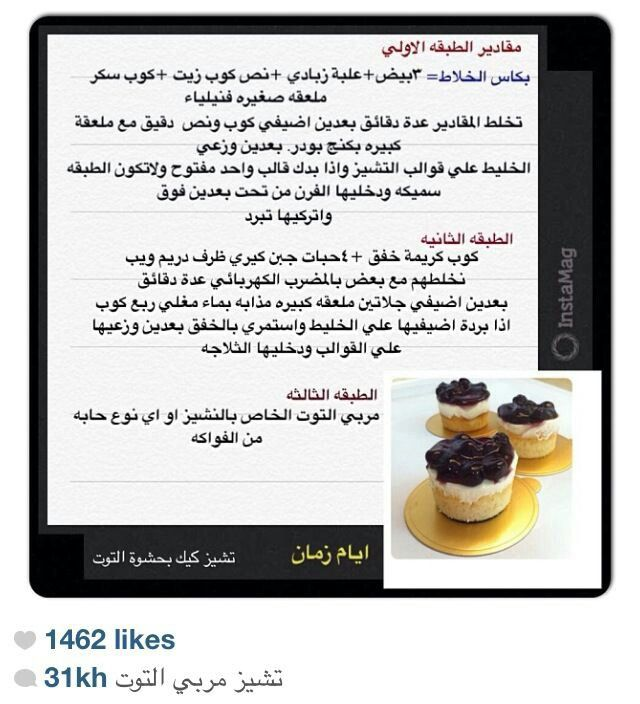 تشيز كيك بالتوت Cheesecakes Desserts