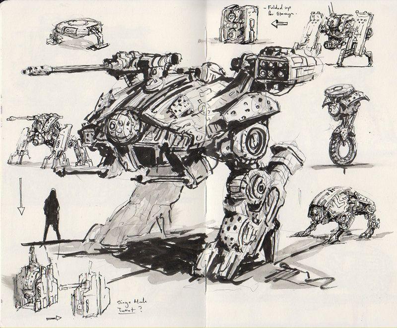 sketchbook doodles by muyoung kim