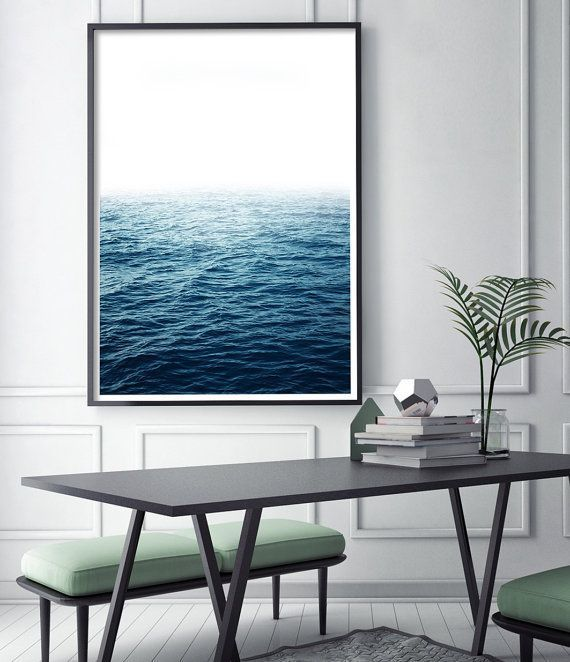 Ocean photography print ocean print ocean art large wall art etsy prints
