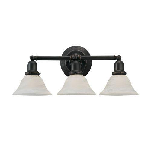 S44062782 sussex 3 bulb bathroom lighting heirloom bronze at fergusonshowrooms com