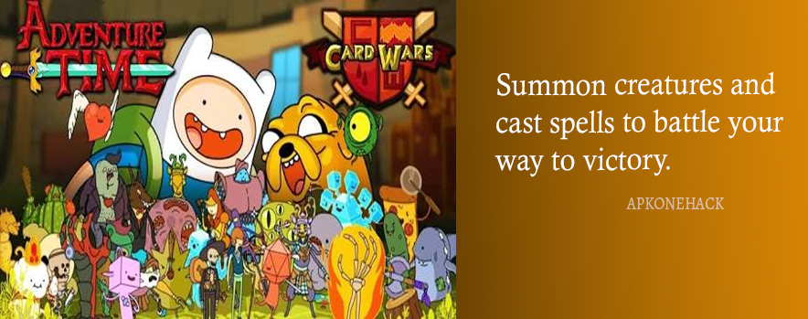 Card Wars Adventure Time is an adventure game for android
