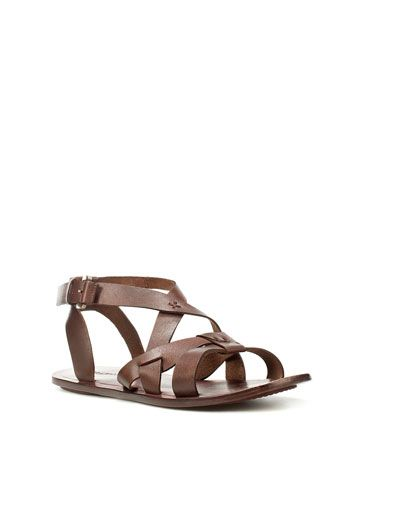 16841dc80cc I cannot wait for my Zara Roman sandals to get here for spring and summer!