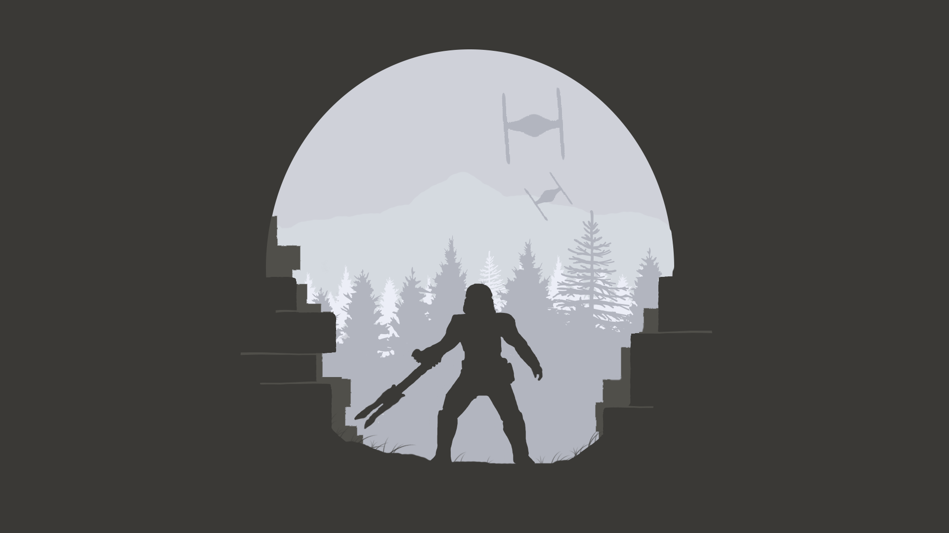 Minimal Star Wars Wallpapers Pinterest