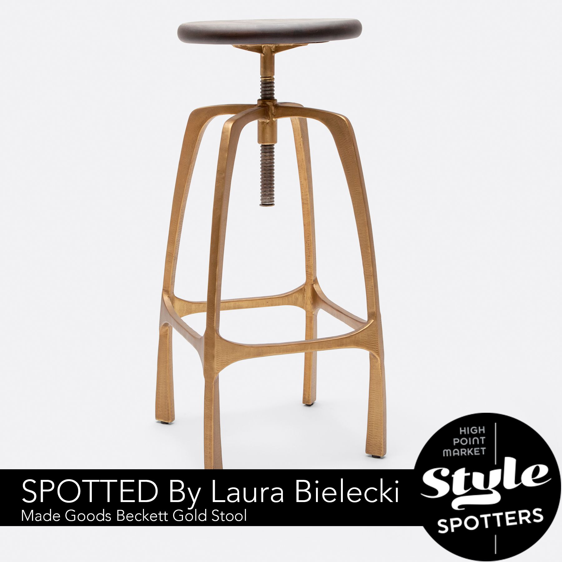 Made Goods Beckett Stool. Style Spotted By Laura Bielecki