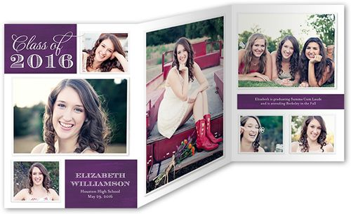 Graduation Announcements Products Pinterest Tri Fold And