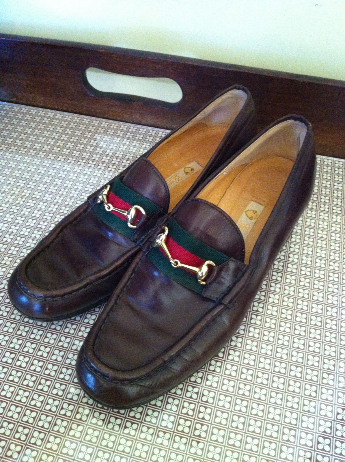 043f4cb53 Shop La Dolfina: Vintage Gucci Loafers | National Pink Tie Org ...