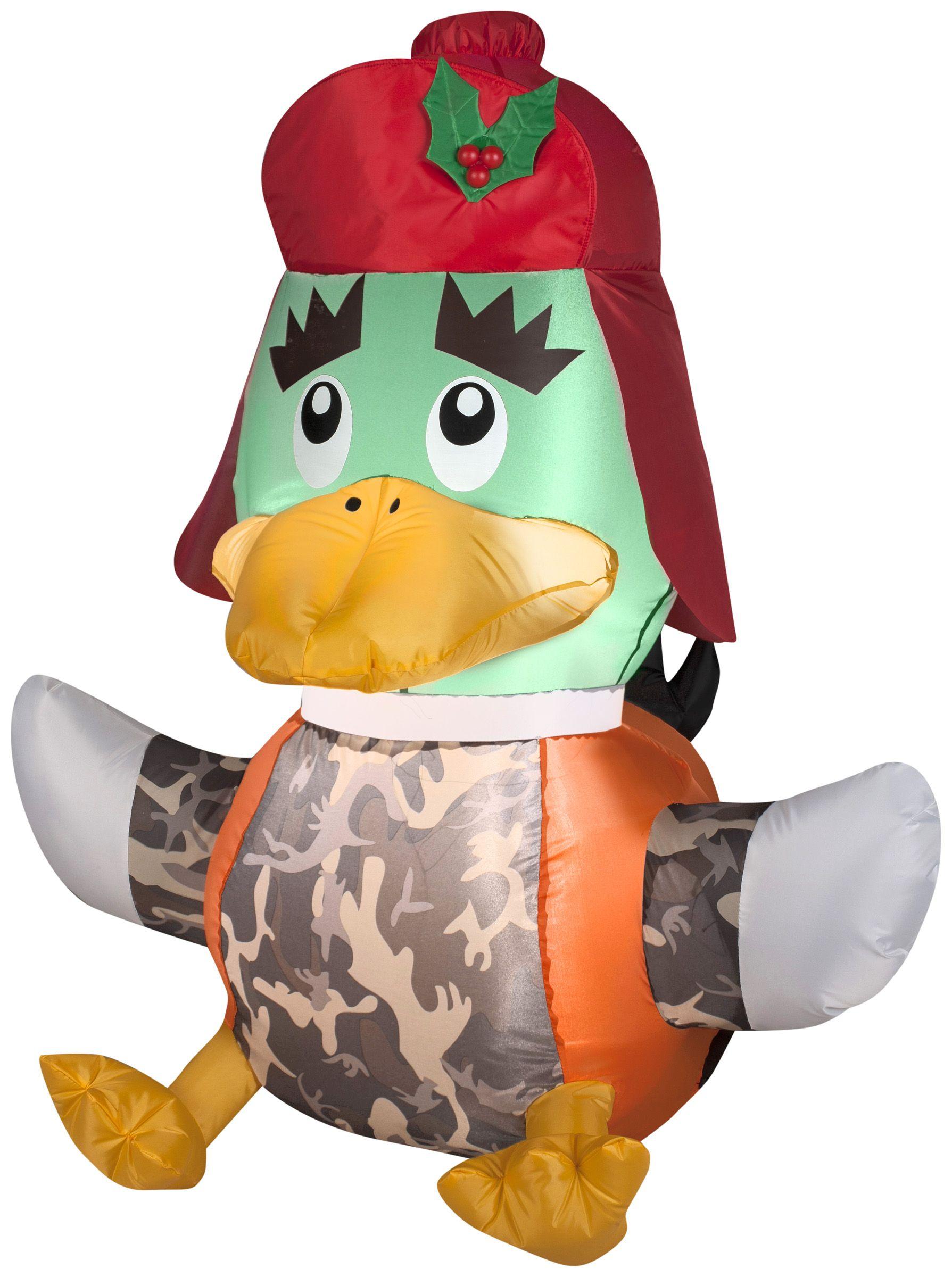 3 5 Duck Hunter Christmas Inflatable