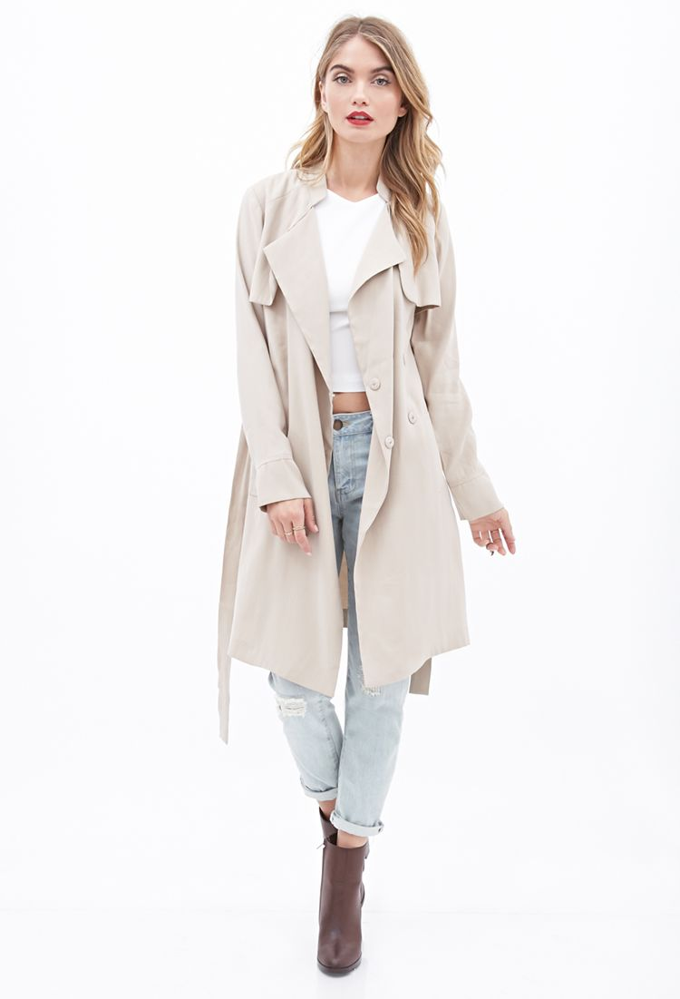 Trench jacket forever 21