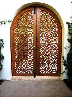 paradisdillinghse1 Cool Doors Iron doors, Door design