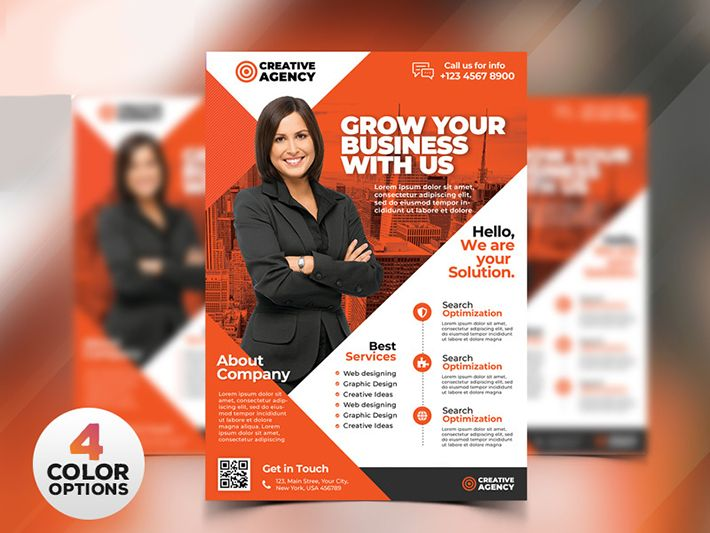 Creative Business Flyer Templates Free Download PSD