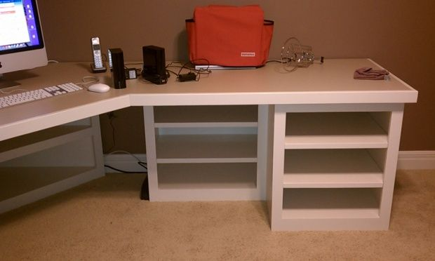 Need Advice On My Corner Desk Plans Woodworking Desk Plans Diy Wood Projects Furniture Sewing Room Furniture