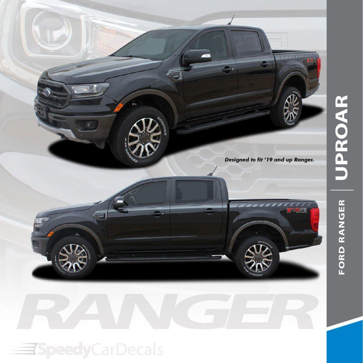 2019 Ford Ranger Stripes UPROAR SIDE DECALS 2020 2019 3M